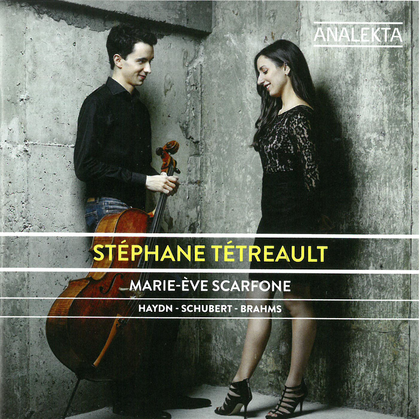 Haydn schubert brahms st phane t trault marie ve scarfone the wholenote - Stephane marie jardinier ...