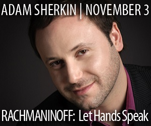 Adam Sherkin - To Nov 3
