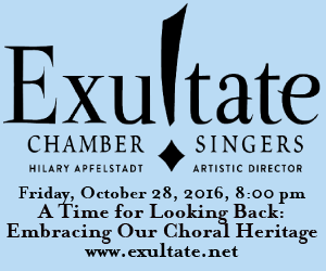 Exultate - To Oct 28