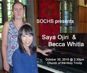 SOCHS - To Oct 30