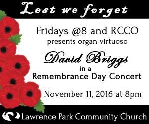 Lawrence Park Community Church - To Nov 11