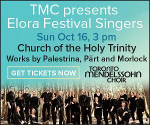 Toronto Mendelssohn - To Oct 16