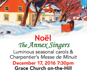 Annex Singers - To Dec 17