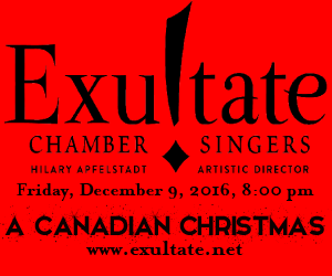 Exultate - To Dec 9