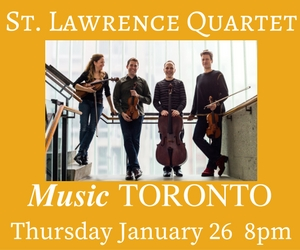 Music Toronto - To Jan 26