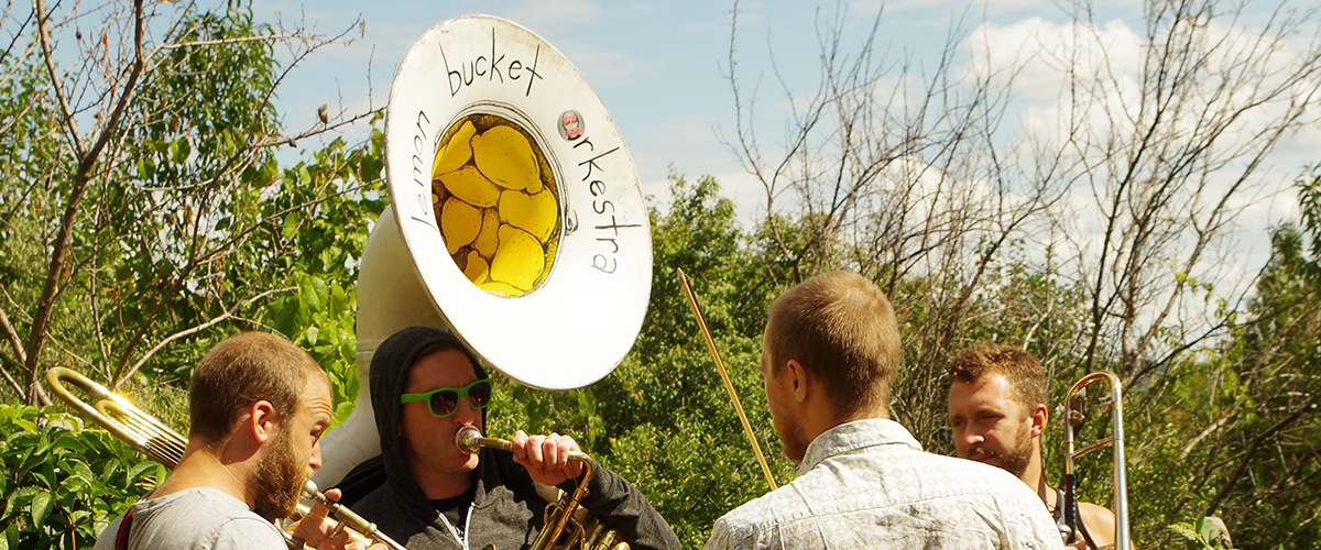On Our Cover: Lemon Bucket Orkestra