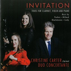 Invitation: Trios for Clarinet, Violin and Piano -...