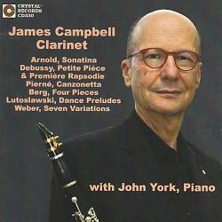 James Campbell, Clarinet - James Campbell; John Yo...