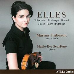 ELLES - Marina Thibeault; Marie-Ève Scarfone
