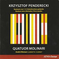 Krzysztof Penderecki - Quatuor Molinari