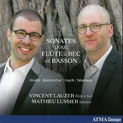 Sonates pour Flûte à Bec et Basson - Vincent Lauze...