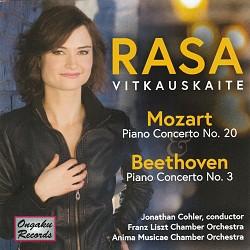 Mozart – Piano Concerto No.20; Beethoven – Piano C...