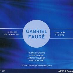 Gabriel Fauré: Intégrale des mélodies pour voix et...