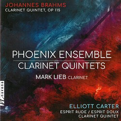 Clarinet Quintets - Mark Lieb; Phoenix Ensemble
