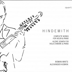 Hindemith Complete Works for Violin & Piano - Roma...