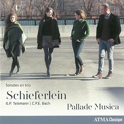 Schieferlein; Telemann and C.P.E. Bach: Sonates en...