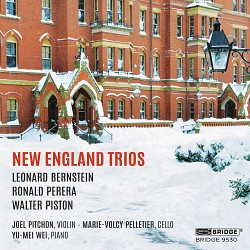New England Trios - Joel Pitchon; Marie-Volcy Pell...