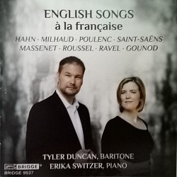 English Songs à la Française - Tyler Duncan; Erika...