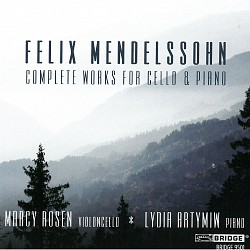 Felix Mendelssohn Complete Works for Cello & Piano...