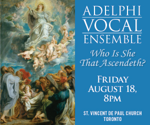 Adelphi Vocal Ensemble - To August 18