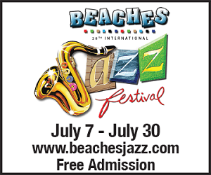 Beaches International Jazz Festival - To July 30