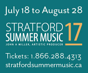 Stratford Summer Music - To Aug 28