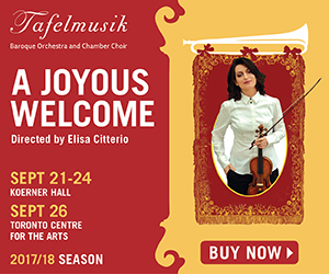 Tafelmusik - To Sept 26