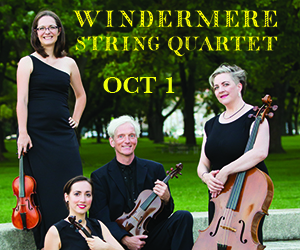Windermere - To Oct 1