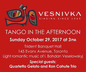 Vesnivka Choir - Oct 29