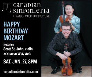 Canadian Sinfonietta - Jan 27