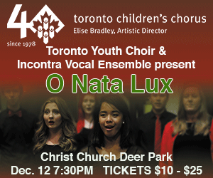 Toronto Childrens Chorus - Dec 12