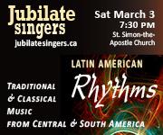 Jubilate Singers - Mar 3