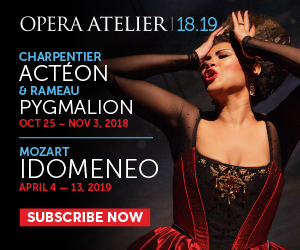 Opera Atelier - Feb 2018