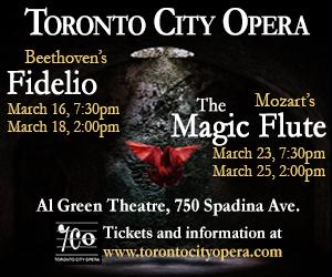 Toronto City Opera - Feb 2018