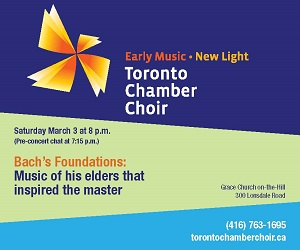 Toronto Chamber Choir - March 3
