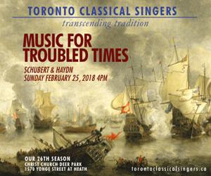 Toronto Classical Singers - Feb 25