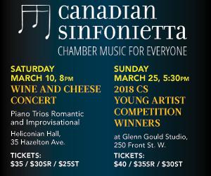 Canadian Sinfonietta - Mar 25