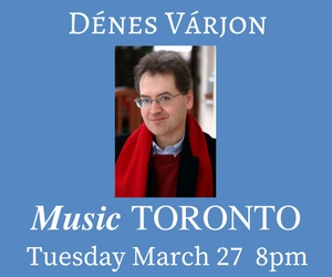 Music Toronto - Mar 27