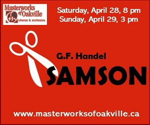 Masterworks of Oakville - Apr 29