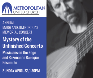Metropolitan United Church - Apr 22