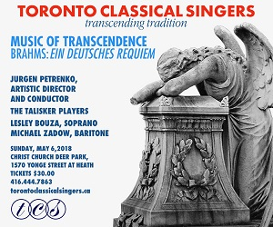 Toronto Classical Singers - May 6