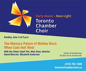 Toronto Chamber Choir - Jun 3
