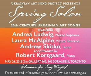 Ukrainian Art Song Project - May 24