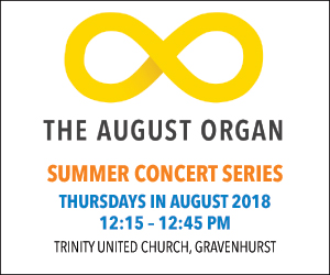 August Organ - 8/31/2018