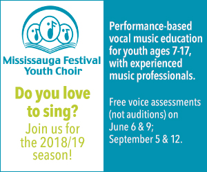Mississauga Festival Youth Choir - 9/7/2018