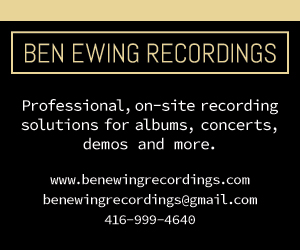 Ben Ewing Recordings - 10/07/2018