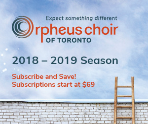 Orpheus Choir of Toronto - 10/8/2018