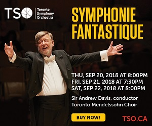 Toronto Symphony Orchestra #2 - 9/30/2018