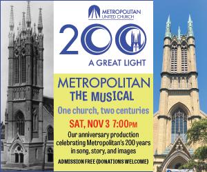 Music at Metropolitan #2 - 11/4/2018
