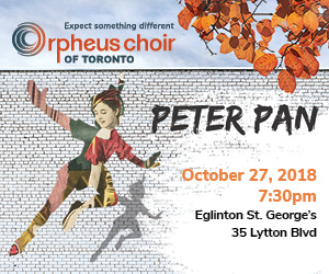 Orpheus Choir of Toronto - 10/28/2018